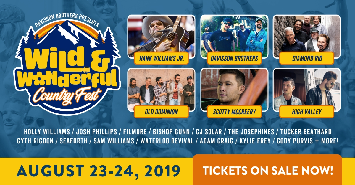 Wild & Wonderful Country Fest Uncorks Initial Lineup