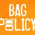 WWCF Bag Policy